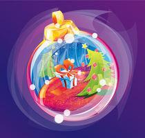 Christmas Ball by Delmy Alvarenga