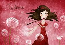 La flutiste by Lana Cosic
