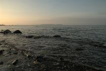 Sonnenuntergang an der Ostseeküste von Max Nemo Mertens