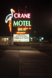 Crane Motel, Roswell, New Mexico. von Tom Hanslien