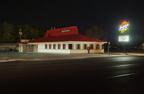 Pizza Hut, Roswell, New Mexico. von Tom Hanslien