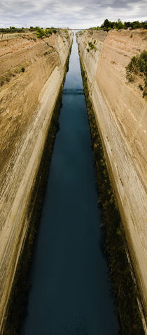 The Corinth Canal, Greece. by Tom Hanslien