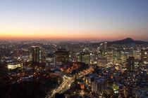 Seoul Cityscape von Daniel Swee