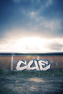 Graffiti Sunset II by Thomas Schaefer