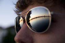 Blick in den Sonnenuntergang by Max Nemo Mertens