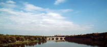 The Garonne River and the Pont Neuf in Toulouse, France by bob bingenheimer