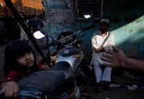 Bombay, India Slum von Brent Foster