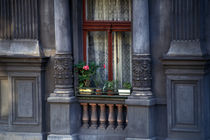 Cityscape detail in Prague.