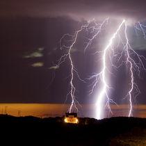 Lightning strikes von Willy Marthinussen