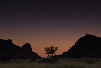 Spitzkoppe Sunset by Russell Bevan Photography