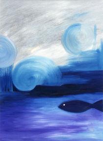 Der blaue Fisch von martina burgwinkel