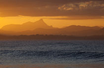 Mt Warning Sunset by Mike Greenslade
