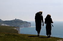 The Seven Sisters of Eastbourne/England by Giovanni Marino