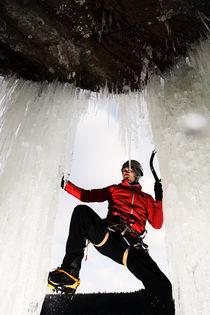Ice climber by Martin Kristiansen