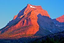 Going to Sun Mountain - Glacier National Park - Montana - USA von Ken Dvorak