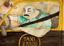 Taxi driver by Juan Weiss