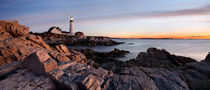 Portland Head Light Dawn von Paul Lemke