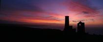 Wheal Coates Sunset von Mike Greenslade