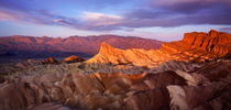 Morning Light At Zabriskie Point von Paul Lemke