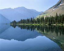 Mountain Lake Reflection by Paul Lemke