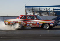 Drag Race Burn Out #1 von James Menges