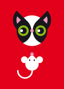 Mr. Cat & Mr. Mouse von Krista de Groot