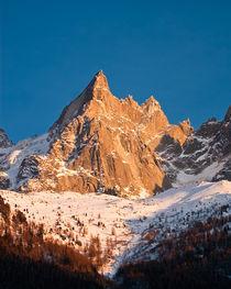 Aiguille du Midi, Chamonix-Mont Blanc von David Maher