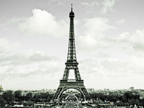 La Tour Eiffel II by Marty Portier