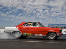 Drag Race Burn Out #2 von James Menges