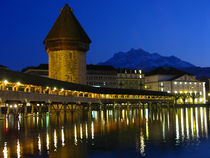 Lucerne, Switzerland Europe by Marty Portier
