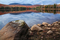 Loon Lake In Autumn by Paul Lemke