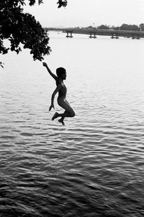 Leaping Boy by Mike Greenslade