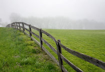 Fog, Fence And Field by Paul Lemke
