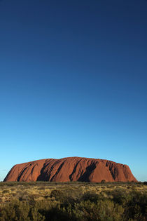 Uluru Blue von Mike Greenslade