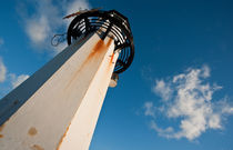 A lighthouse in St. Ives, Cornwall, UK von Artyom Liss