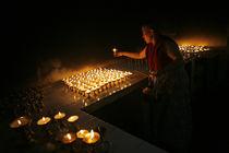 Tibetan Nun by Danny Ghitis