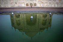 Taj Mahal Reflection Pool by Danny Ghitis