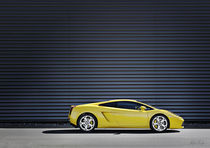 Yellow-Lamborghini-Gallardo von Philip Elberling
