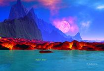 Pele's Gift - Pele's Heaven  by David Jackson