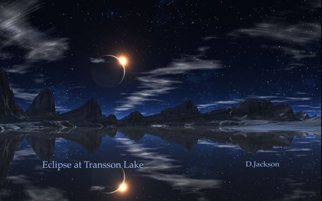 Eclipse-at-lake-trasson