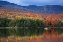 Mountain Lake In Autumn by Paul Lemke