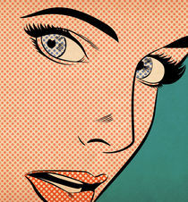 Pop Art Woman von Joseph McDermott