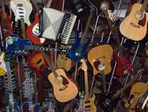 Guitars von James Menges