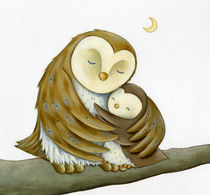 'Owl Mother's Love' by Advocate Art