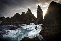 Fishermen of the ocean by Xulio Villarino