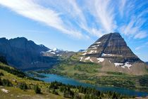 Hidden Lake #3 Glacier National Park Montana USA von Ken Dvorak