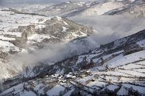 Snow and fog by Xulio Villarino