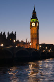 Big Ben Evening Twilight von Stelios Michael