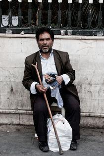 Blind beggar von Riccardo Valsecchi