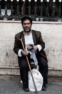 Blind beggar by Riccardo Valsecchi